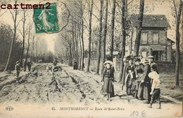 MONTMORENCY_ ROUTE DE SAINT-BRICE 95 - Montmorency