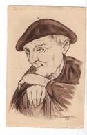 PAYS BASQUE - 64 - Méditation - Illustrateur F. Huygen - Achat Immédiat - Zonder Classificatie