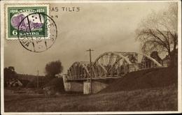 Cp Lettland, Tilts, Blick Auf Eine Brücke - Letland