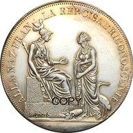 Cisalpine Republic (Italian States) * 1 Scudo/6 Lire VIII (1800) Ag * ⌀ 39.35 Mm * REPRODUCTION - Monedas Regionales