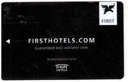 NORVEGIA - KEY HOTEL   First Hotel - Guaranteed Best Available Rates - Hotelkarten