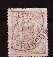 Nederland - Niederlande - Pays Bas NVPH 13 (1869) - Period 1852-1890 (Willem III)