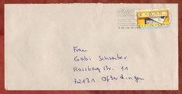 Brief, Briefkasten, MS Adel Im Wandel Sigmaringen Briefzentrum 72, Tuebingen Nach Ofterdingen 2006 (83139) - Distributori