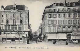 56)  LORIENT  - Rue Victor Massé - Le Grand Café - Lorient