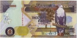 Zambia 5000 Kwacha (P45e) 2009 Sign 12 -UNC- - Zambia