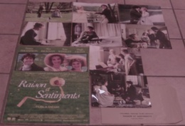 AFFICHE CINEMA ORIGINALE FILM RAISON ET SENTIMENTS + 8 PHOTOS EXPLOITATION ANG LEE GRANT THOMPSON 1995 - Manifesti & Poster