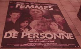 AFFICHE CINEMA ORIGINALE FILM FEMMES DE PERSONNE + PHOTOS EXPLOITATION KELLER CELLIER TRINTIGNANT FRANK - Manifesti & Poster
