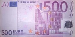 500 EURO ALEMANIA(X), R011A1  First Position, TRICHET - EURO