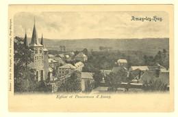 A0470[Postkaart] Amay-lez-Huy / Eglise Et Panorama D'Amay. (Félix De Ruyter) [kerk Van Vue Sur] - Forêts, Parcs, Jardins