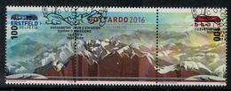 Suisse // Schweiz // Switzerland //  2016  // Gottardo 2016 Oblitéré 1er Jour No. 1589-1590 - Oblitérés