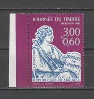 FRANCE / 1997 / Y&T N° 3051 ** : Journée Du Timbre (Mouchon) Avec Surtaxe De Feuille X 1 BdF G - Unused Stamps