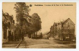 Neufchâteau - L'avenue De La Gare Et La Gendarmerie - Neufchâteau