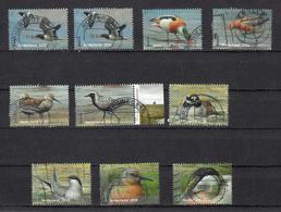 Nederland 2016, Nvph 3401 - 3410 , Mi Nr 3459 - 3468, Griend, Vogels Van Het Wad, Bird - 2013-... (Willem-Alexander)