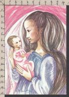 98372/ NOEL, Vierge à L'Enfant, Petite Madone, Illustrateur A. De Spiegeleer - Noël