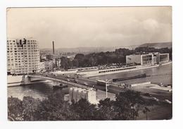 Liège Nouveau Pont De Commerce Palais Des Congrès En 1958 Péniche DKW Dyna Panhard Opel VOIR DOS - Belgium