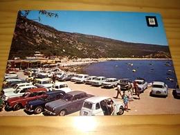 "Postcard Portugueses, Postal ""Portinho Da Arrábida, Old Car Renault 4 L..."" Setúbal - Setúbal"