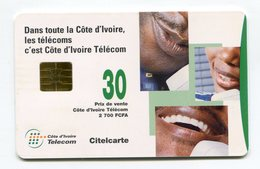 Telecarte °_ Côte Ivoire-Dans Tout La Côte-gem-Citel 30- R/V 1667 - Côte D'Ivoire