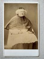 RAMBOUILLET - CDV Format CABINET - Superbe Portrait Religieux - Évêque ? Cardinal ? A Identifier - Photo Lecoq - TBE - Foto
