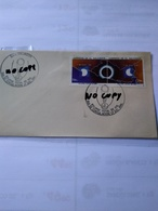 El Salvador The 1991 Fdc About Cpl Solar Eclipse 1991 With Pictorial Day Of Issue Pmk - Astronomia
