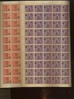 Condor 1930. Surchargés Yv 22-23-24. En Feuilles Complètes De 50 Ex. Cote 1200,-euros - Poste Aérienne (Compagnies Privées)