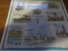Carte Entier Postal Capitale Européenne Budapest Prêt à Poster International - PAP: Sonstige (1995-...)