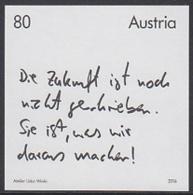 AUSTRIA (2016) The Future Factor. Black Print. - Prove & Ristampe