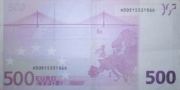 500 EURO ALEMANIA(X), R002  Low Nummer, DUISEMBERG - EURO
