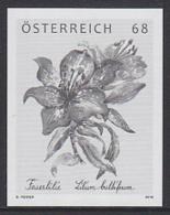 AUSTRIA (2016) Tiger Lily. Black Print. - Prove & Ristampe