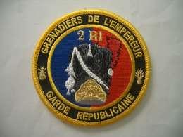 Patch Garde Républicaine - Police
