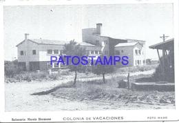 126210 ARGENTINA BUENOS AIRES MONTE HERMOSO COLONIA DE VACACIONES PHOTO NO POSTAL POSTCARD - Fotografie