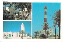 Tunisie DJERBA Midoun -(Mosquée Mosque Phare Lighthouse)  *PRIX FIXE - Tunisia