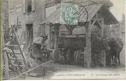 LA CANTAL PITTORESQUE  17 Le Ferrage Des Boeufs - Francia