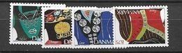 1993 MNH Danmark, Michel 1064-7 Postfris** - Danimarca