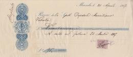 **  MARSALA.- (TP).- 1907.-** - Bills Of Exchange