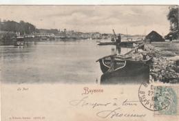 ***  BAYONNE  Le Port Précurseur Timbré TTB - Autres Communes