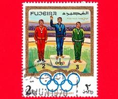 Emirati - FUJEIRA - 1970 - Olimpiadi - 75 Anni Del Comitato Olimpico Internazionale (IOC) 1969 - Podio - 2 - Fujeira