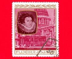 Emirati - FUJEIRA - 1970 - Personalità Della Storia Inglese - Elisabeth I - 1 - Fujeira