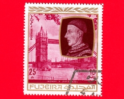 Emirati - FUJEIRA - 1970 - Personalità Della Storia Inglese - Enrico V D'Inghilterra (1413-1422) - 25 - Fujeira