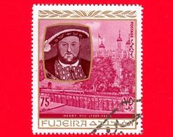 Emirati - FUJEIRA - 1970 - Personalità Della Storia Inglese - Enrico VIII D'Inghilterra (1509-1547) - 75 - Fujeira