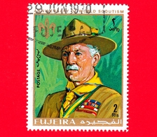 Emirati - FUJEIRA - 1970 - Scoutismo - Boy Scout - Lord Baden-Powell - 2 - Fujeira