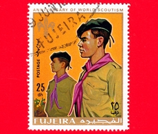 Emirati - FUJEIRA - 1970 - Scoutismo - Scouts In Uniforme - 25 - Fujeira