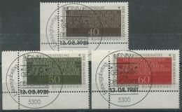 Bund 1981Grundgedanken D. Demokratie 1105/07 Ecke U. Links SST Bonn (E104) - Usati