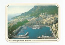 Principato Di Monaco 1989, Veduta Aerea Del Porto - Panorama.Navi. - Harbor