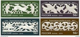 Russia 2019 Bone Carving  Set MNH - 1992-.... Federation