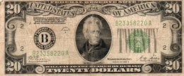 USA=1928-B   20  DOLLARS   P-430   V FINE - Bilglietti Della Riserva Federale (1928-...)