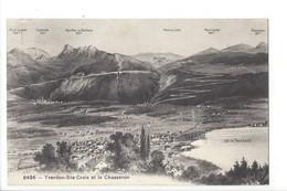 25036 - Yverdon-Ste-Croix Et Le Chasseron Panorama - VD Vaud