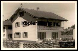 ALTE FOTO POSTKARTE PFRONTEN IM ALLGÄU HAUS FAMILIE GEORG FINK RÖMERWEG Bayern Postcard AK Cpa Photo Ansichtskarte - Pfronten