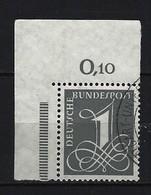 BUND Mi-Nr. 226 Eckrandstück Links Oben Gestempelt - [7] République Fédérale