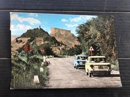 APPENNINO REGGIANO TORRE DI FELINA E PIETRA DI BISMANTOVA DALLA STATALE REGGIO-LA SPEZIA  1965 - Reggio Emilia