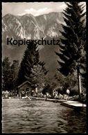 ALTE POSTKARTE PFRONTEN IM ALLGÄU SCHWIMMBAD Bad Freibad Piscine Swimming Pool Bayern Postcard Cpa AK Ansichtskarte - Pfronten